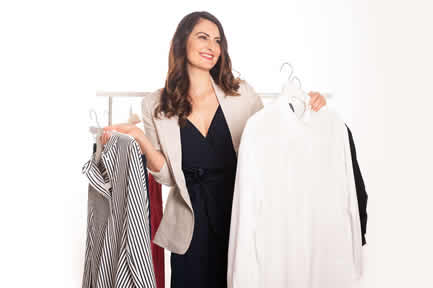 Online Stil & Typ-Beratung - Kleiderschrank-Check für Damen