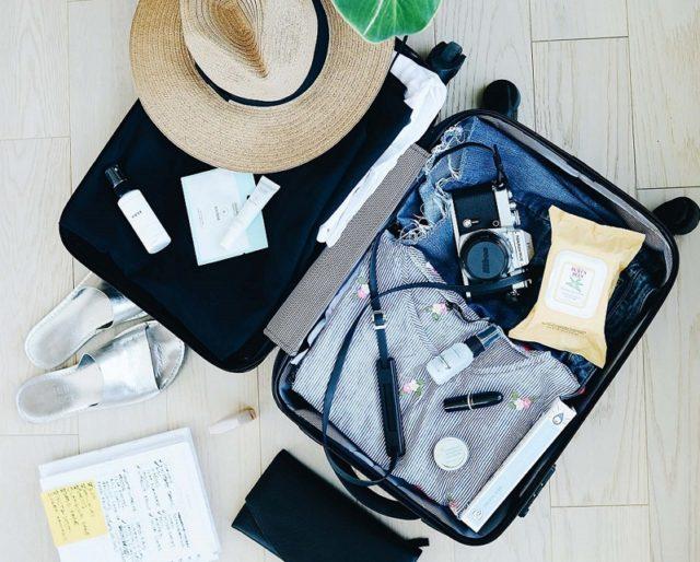 Kofferpacken Sommerurlaub